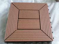 Cheap WPC DIY Decking Tiles