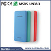 Wholesale Universal Real 6000mah capacity polymer power bank for smart mobile