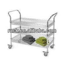 Zhong Shan 3 Tiers Utility Household Cleanroom Trolley,NSF Approval