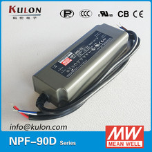 MEAN WELL NPF-90D-48 90w 48v air conditioner low current led driver