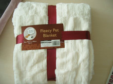 luxary faux fur pet blanket
