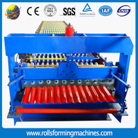 corrugated steel sheet roll forming machine| corrugated panel making machine