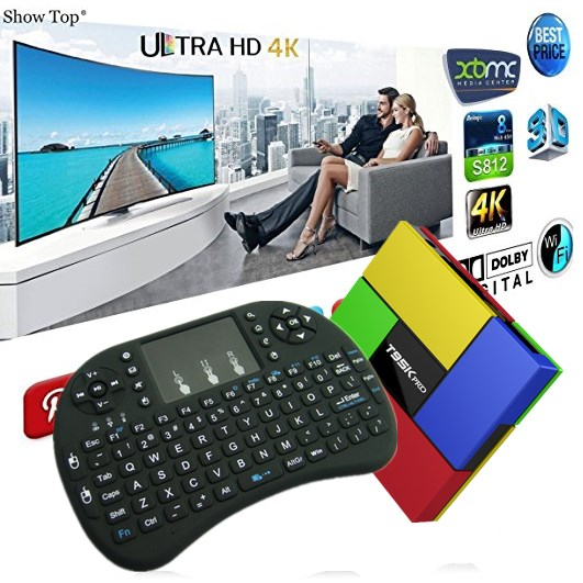High quality The Ergonomically handheld design i8 Wireless Keyboard universal smart tv remote control keyboard