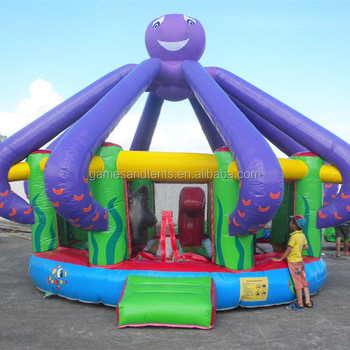 High quality inflatable octopus bouncer inflatable bouncy jumper A1120-1