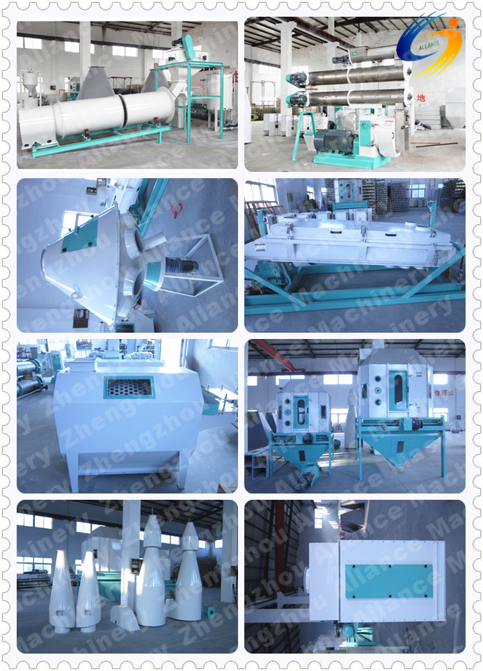 300-1200kg/h feed pellet production line