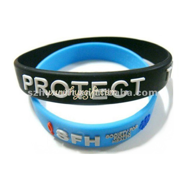 Factory Custom Silicone Wristband,Personalized Logo Cheap Silicone Rubber Wristband