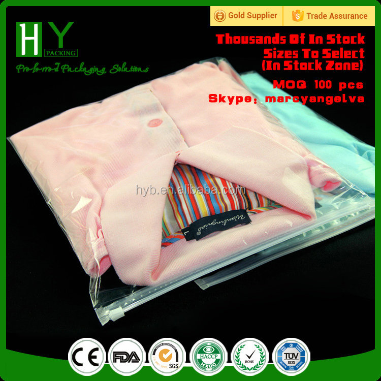 Yiwu bag plastic bag manufacturers ziplock packaging bags for clothing