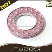 Decorative plastic curtain ring plastic curtain eyelets
