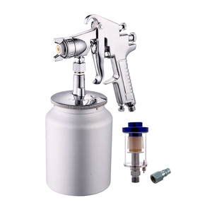 Siphon With Water Oil Air Filter Hvlp Feed Spray Gun