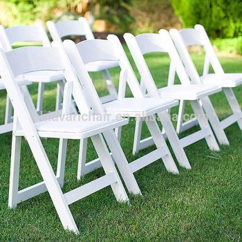 Rich Experience Round Wood Leisure Folding Chairs
