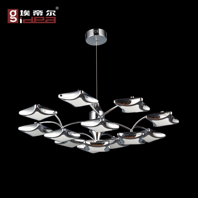 decorative lighting fixture chrome led chandelier lighting murano