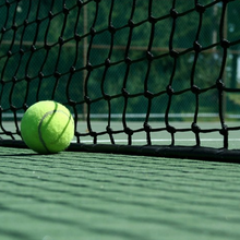 Mytest Ingegraven Tennis Post apparatuur tennis hof netto