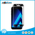 Edge to edge 3D tempered glass screen protector for samsung A5 2017 factory price
