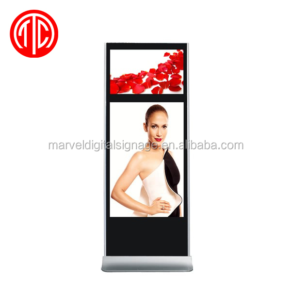 55 inch lcd advertising player outdoor with pc inside