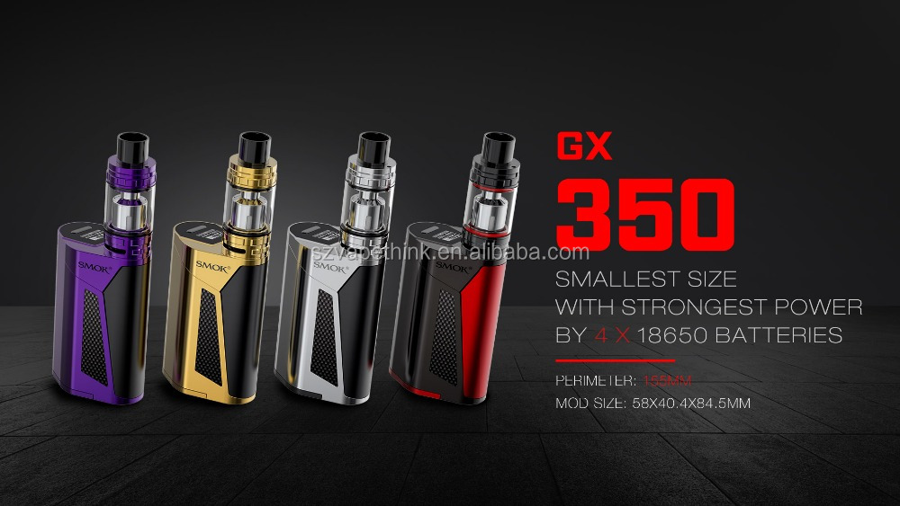 220W / 350W GX 350 Kit SMOK GX350 E Cigarette Kingarea Wholesale with Alien in large stock