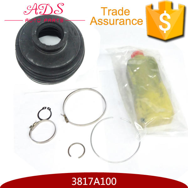 OEM:3817A100 wholesale front axle rubber C.V joint boot kits for Japanese car