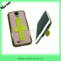 2014 fashion new design silicone Mobile phone stent for cellphone,ipad & tablet