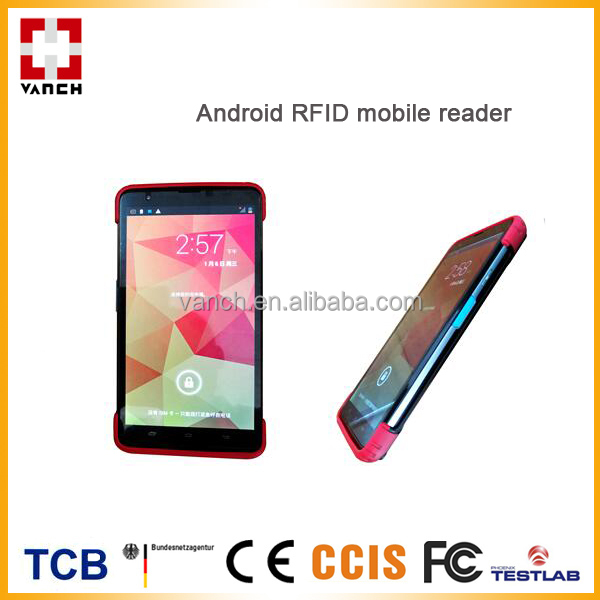 Android 4G LTE UHF mobile smartphone RFID reader wifi/bluetooth/gps