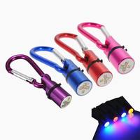 Colorful Waterproof Pet Dog Flash LED Light Tag Pendant Dog Flashing Blinker Collar