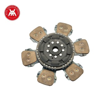 "Weltake WMM brand agriculture machinery part Clutch Plate Main 5 Paddle Sintered 13"" 21 Spline For MF 4200/4300 Series"
