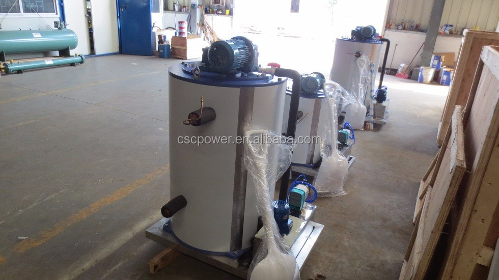 1000kg flake Ice evaporator Ice Drum Ice Maker Drum