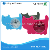 Newest mini digital silicone clock high quality