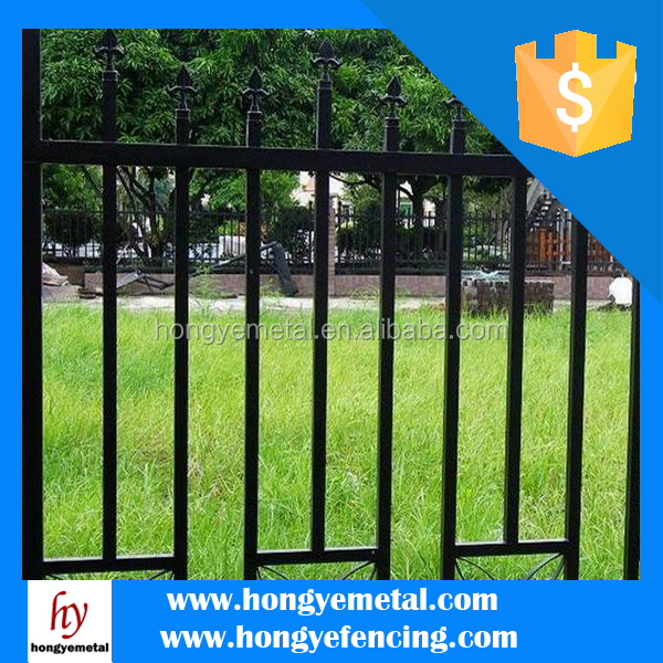 China Factory Wrought Iron Fencing Supplies