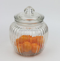 1300ml Airtight Glass Jar for Canning with Glass Lid, Glass Cookie Jars