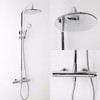 Rain Shower Head Wall Mounted Faucet