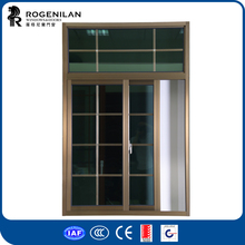 ROGENILAN 76 series metalic windows pictures with low price aluminum windows wheels