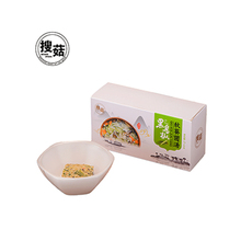 Dried vegetables egg concentrated laver okra soup