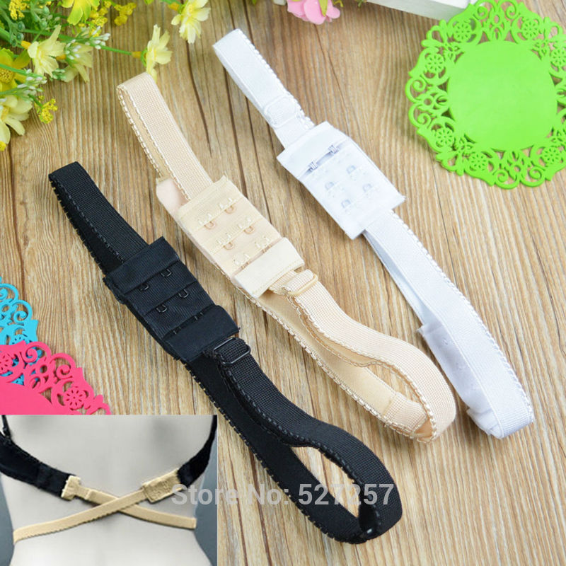Backless Adapter Converter Adjustable Extender Hook Bra Strap