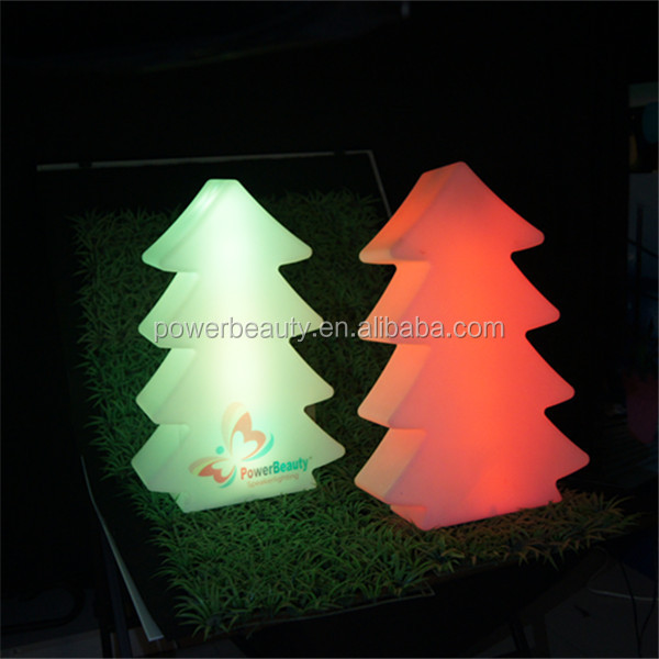 Rechargeable led lighting up outdoor holiday led tree for child christmas