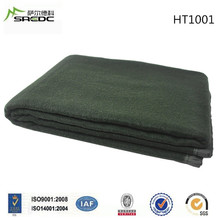 BLUE PHOENIX king size thick and heavy polyester wool military blanket