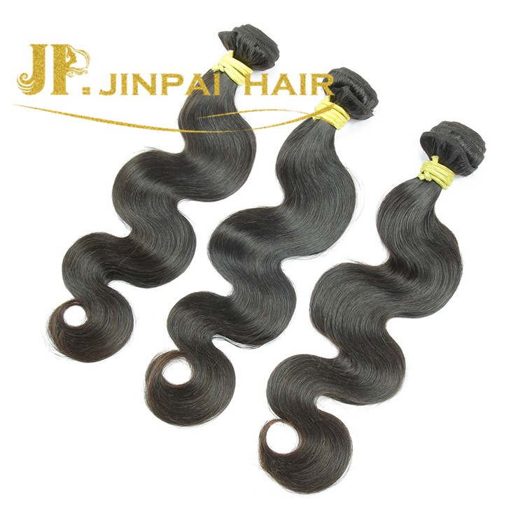 JP Hair Grade 8A Technique And Human Hair Material Body Wave Indian Hair Weave