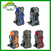 2015 New design hot sale mountaineeering camping waterproof hiking backpack/hidden compartment backpack