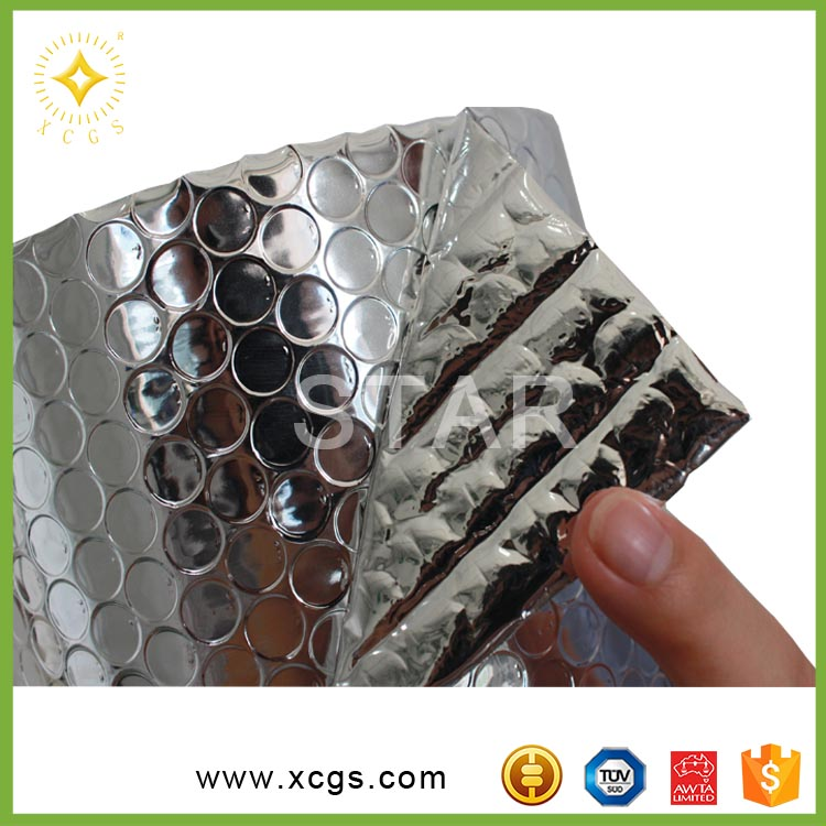 Aluminum Foil Bubble Thermal Insulation Material Heat Reflective Material