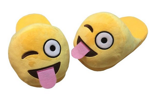 Suitable Emoji Slippers Cushion slippers