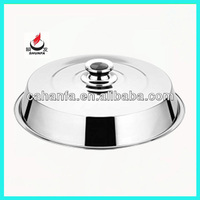 45cm Durable & Cheap Price & Good Quality Stainless Steel Food Cover / Food Lid / Plate Cover