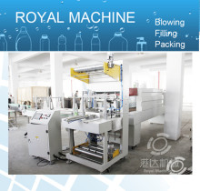 Cosmetic case shrink wrap packing machine