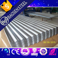 Galvanized Corrugated Steel Sheet/PPGL/PPGI/GI/GL steel coil for constructions