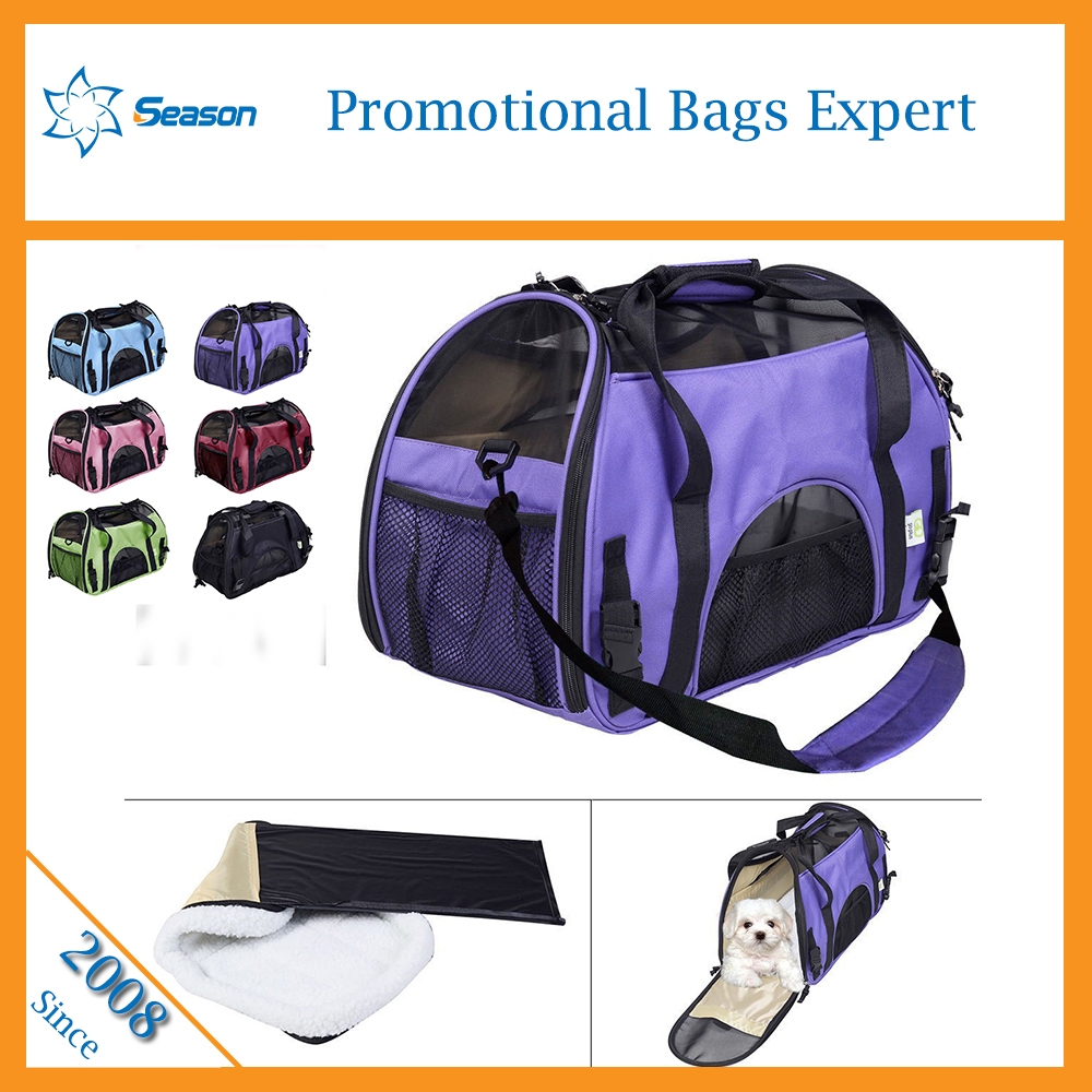 Pet carrier airline approved pet carry bag dog bag carrier