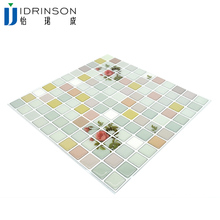 Idrinson 10&quot;<strong>x10</strong>&quot; Bathroom kitchen Epoxy marble wall tile Mosaic Self-adherence of TV Background Wall