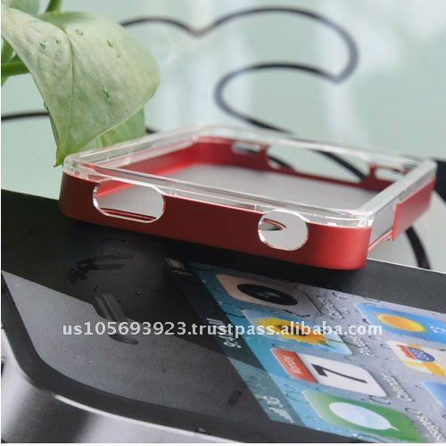 High quality cell phone Aluminum hard case for Iphone 4&Iphone4S