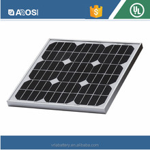 20 Watt Mono Solar Panels For Power Generation Systems, Charging systems, Road lighting and Traffic Sgns Areas