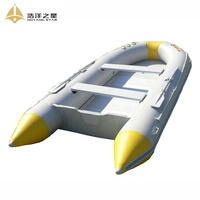 Hot-Selling Pool Fishing Boat Inflatable Lake Floating Boat With Two Oars