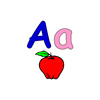 Accept custom security alphabet flashcard for Babies/young children