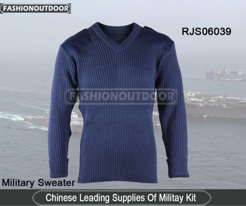 AKMAX Navy Blue Wool Mens Sweater Design from fashionoutdoor