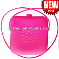 silicone shopping bag/ silicone cosmetic bag