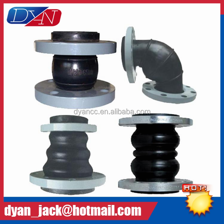Multifunctional Eccentric reducing expansion joint rubber bellows High vibration absorbing ability